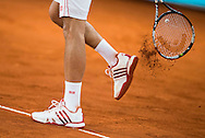 Novak Djokovic during the Madrid Open at Manzanares Park Tennis Centre, Madrid<br /> Picture by EXPA Pictures/Focus Images Ltd 07814482222<br /> 07/05/2016<br /> ***UK & IRELAND ONLY***<br /> EXPA-ESP-160507-0013.jpg