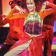 NLD/Aalsmeer/19980316 - Sterrenplaybackshow 1998, Katja Schuurman optreden