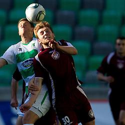 20120425: SLO, Football - PrvaLiga, NK Olimpija Ljubljana vs NK Triglav