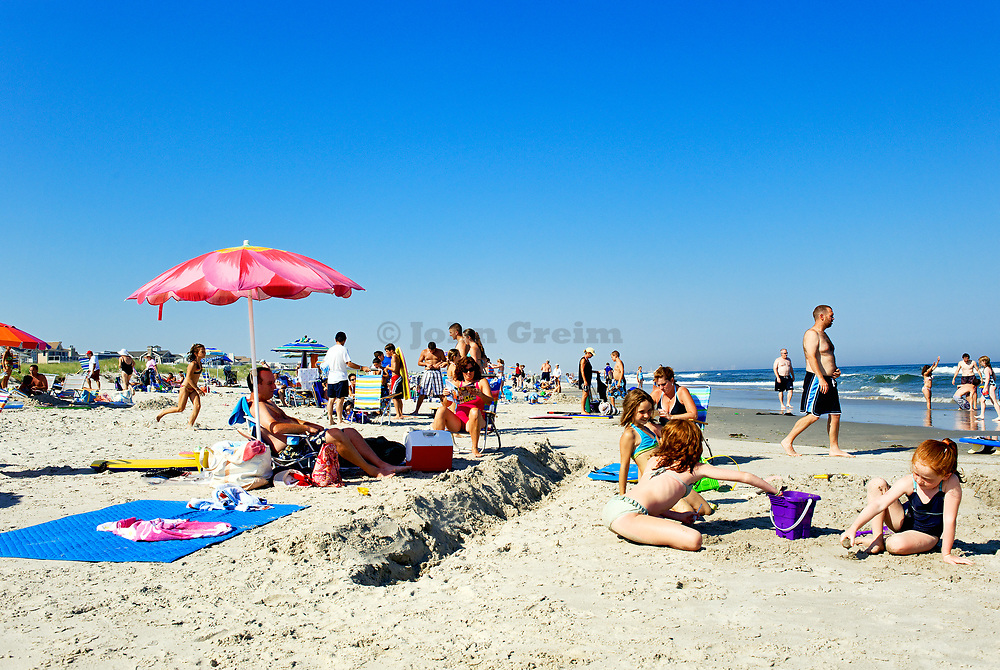 Day at the beach, Ocean City, New Jersey