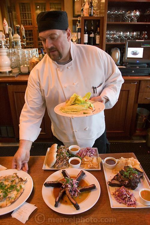 Bounty Hunter Restaurant and Bar, Napa, California. Napa Valley.
