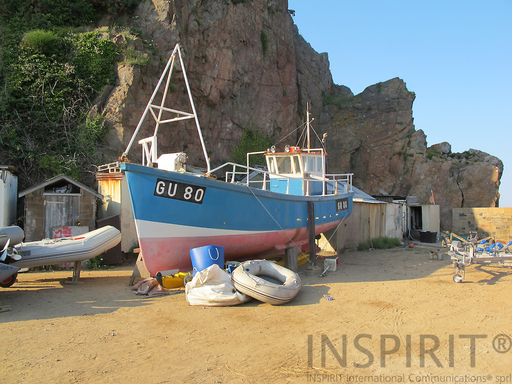 Fishing boat at the small island Sark. Photo: Tuuli Sauren / Inspirit International Communications