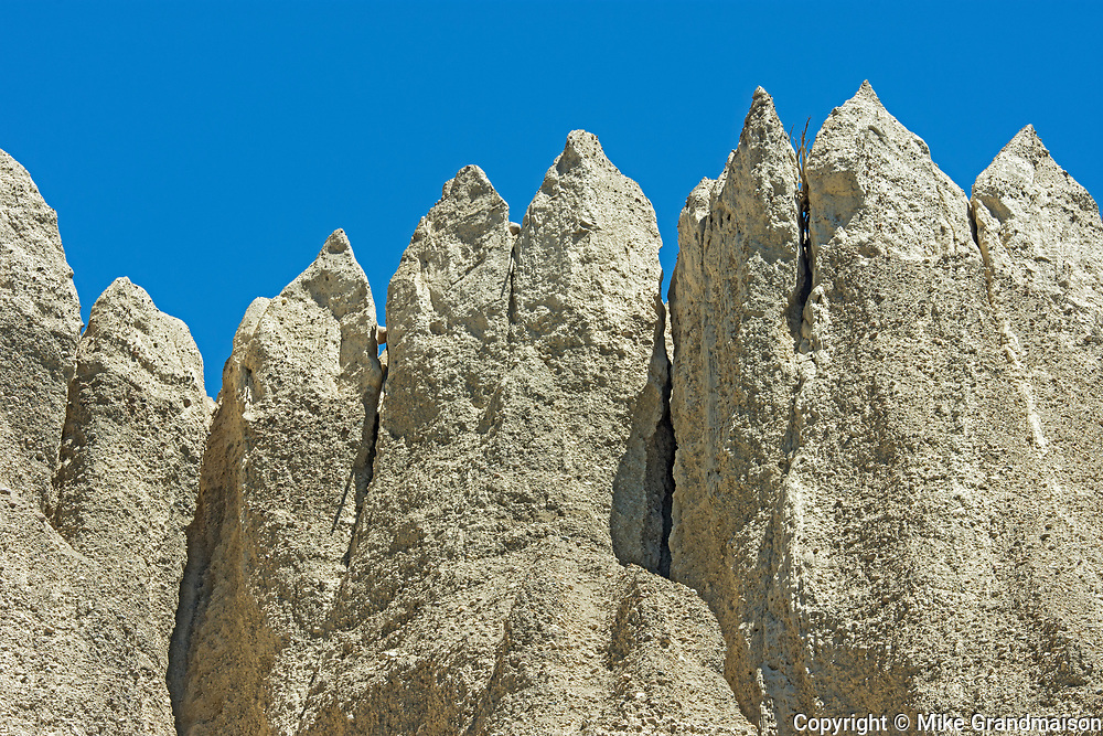 Hoodoos in Badlands. Dutch Creek Hoodoos. , Near Fairmont Hot Springs, British Columbia, Canada
