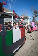 Before the Push Mow parade in Abita Springs