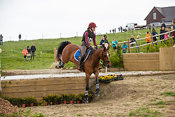 """Sutherland Julie, BEL, Kairo """"E"""" van het Juxschot<br /> Nationale finale AVEVE Eventing Cup voor Pony's - Maarkedal 2019<br /> © Hippo Foto - Dirk Caremans<br /> 27/04/2019"""