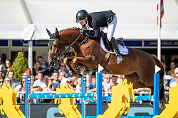 Van Den Brink Dennis, NED, I Am<br /> FEI WBFSH Jumping World Breeding Championship for young horses Zangersheide Lanaken 2019<br /> © Hippo Foto - Dirk Caremans