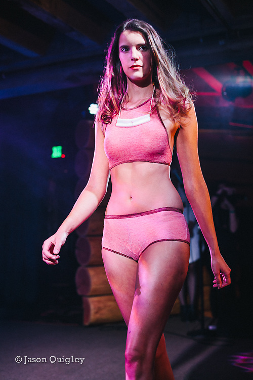 Unmentionable: A Lingerie Exposition at the Doug Fir Lounge in Portland, OR, Feb 10, 2015. Photo by Jason Quigley, www.photojq.com