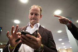 © Licensed to London News Pictures . 25/09/2015 . Doncaster , UK . DOUGLAS CARSWELL at the 2015 UKIP Party Conference at Doncaster Racecourse , this morning (Friday 25th September 2015) . Photo credit : Joel Goodman/LNP