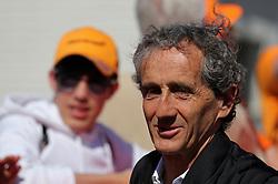May 12, 2019 - Barcelona, Catalonia, Spain - Alain Prost during the GP Spain Formula 1, on 12th May 2019, Barcelona, Spain. (Credit Image: © Joan Valls/NurPhoto via ZUMA Press)