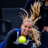 ROSMALEN, tennis Topshelf Open 2014, 17-06-2014, Autotron Rosmalen, eerste ronde, Dominika Cibulkova (SVK).