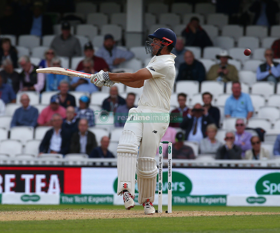 September 10, 2018 - London, England, United Kingdom - England's Alastair Cook .during International Specsavers Test Series 5th Test match Day Four  between England and India at Kia Oval  Ground, London, England on 10 Sept 2018. (Credit Image: © Action Foto Sport/NurPhoto/ZUMA Press)