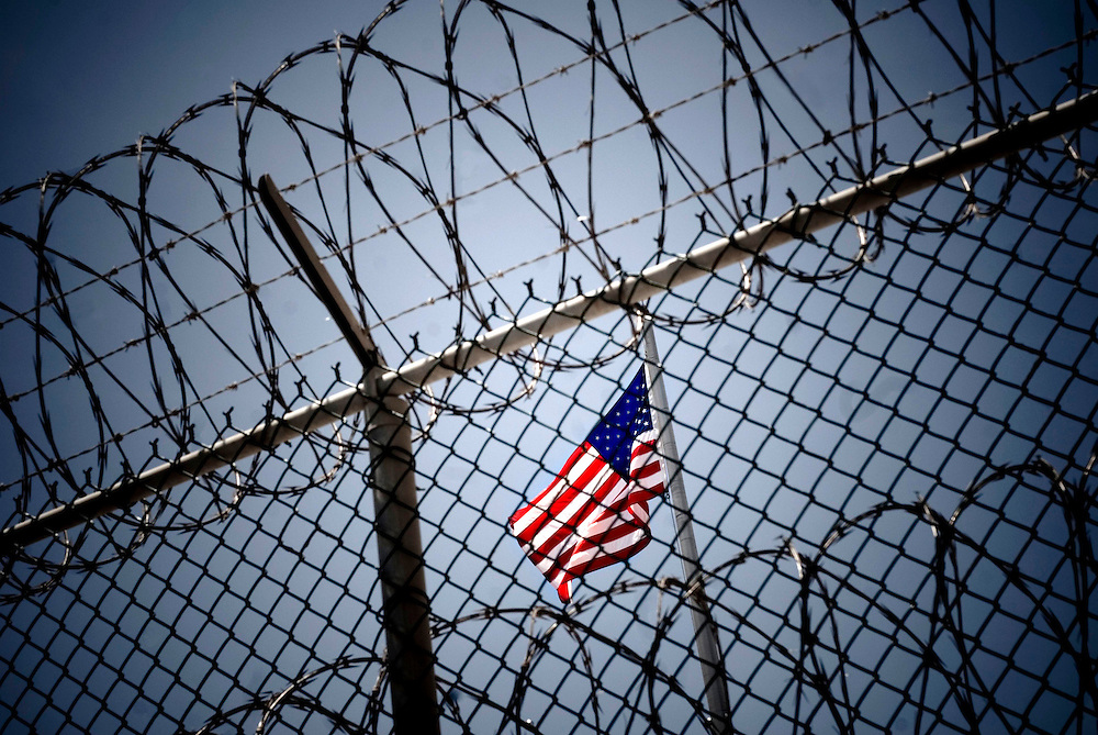 """US Naval base at Guantanamo Bay, Cuba. Detained """"enemy combatants"""" from the war on terrorism...© Chris Maluszynski /MOMENT"""