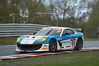 HC Motorsport #55 Ginetta G55 GT4 Stuart Middleton/William Tregurtha GT4 Silverduring British GT Championship as part of the BRDC British F3/GT Championship Meeting at Oulton Park, Little Budworth, Cheshire, United Kingdom. April 15 2017. World Copyright Peter Taylor/PSP.  Copy of publication required for printed pictures.  Every used picture is fee-liable. http://archive.petertaylor-photographic.co.uk