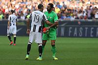 Milano - 18.09.2016 - Serie A 2016-17 - 4a giornata - Inter-Juventus - Nella foto: Leonardo Bonucci  e Gianluigi Buffon - Juventus