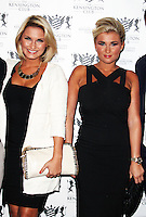 LONDON - July 20: Sam Faiers; Billie Faiers at the Kensington Club Celebrity Launch (Photo by Brett D. Cove)