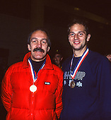 1991 British Indoor [Ergo] Rowing Championships, England Stock