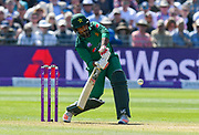 Sarfraz Ahmed (capt & wk) of Pakistan batting during the third Royal London One Day International match between England and Pakistan at the Bristol County Ground, Bristol, United Kingdom on 14 May 2019.