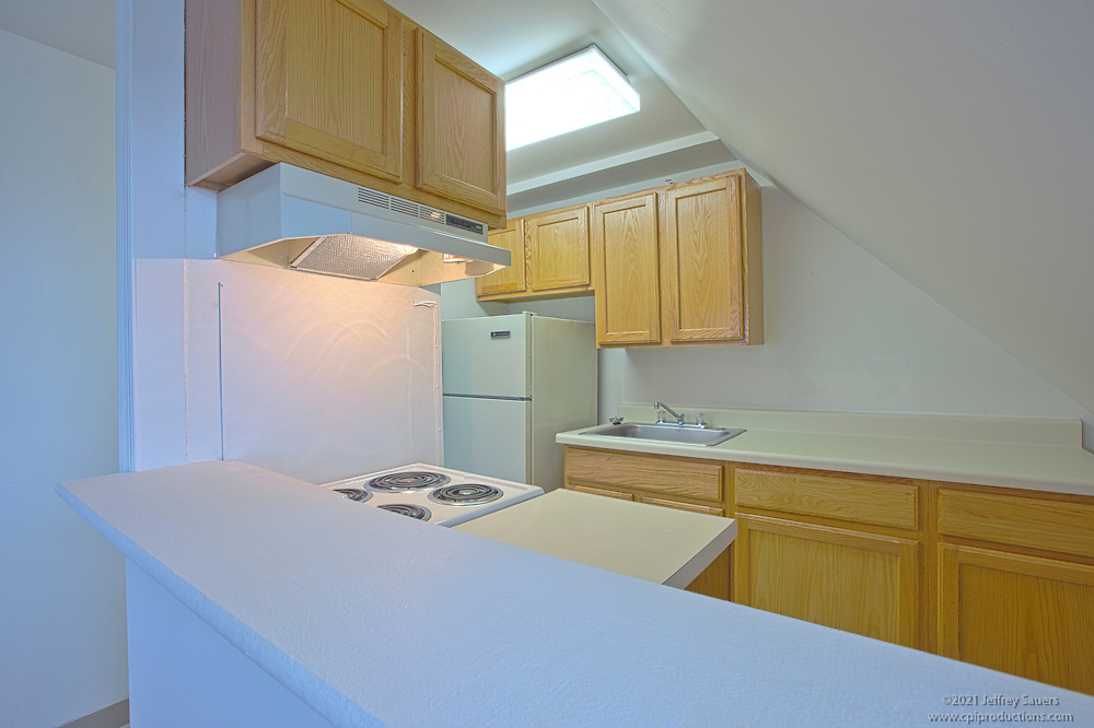 Architectural photography of The Stafford Apartments in Baltimore MD by Jeffrey Sauers of Commercial Photographics.