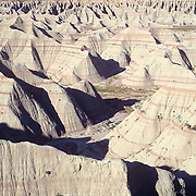 Badlands National Park. Interior, South Dakota