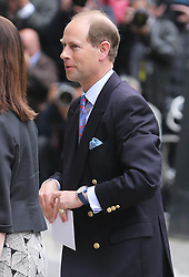 Prince Edward arriving to visit the Duke of Edinburgh at The London Clinic as spends his 92nd birthday in hospital in London, Monday, 10th June 2013<br /> Picture by Stephen Lock / i-Images