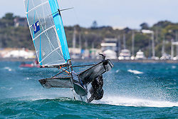 Final day at the McDougall + McConaghy 2015 Moth Worlds, Sailing Anarchy and Sperry Top-Sider Moth Worlds coverage 2015, Sorrento, Australia. January 16th 2015. Photo © Sander van der Borch.