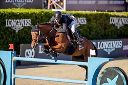 Alvarez Aznar Eduardo, ESP, Rokfeller de Pleville Bois Margot<br /> FEI Jumping Nations Cup Final<br /> Barcelona 2019<br /> © Hippo Foto - Dirk Caremans<br />  03/10/2019