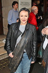 © London News Pictures. 18/06/2013. London, UK. Frances Barber  at The Cripple of Inishmaan - Press Night. Photo credit: Brett D. Cove/LNP