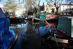 UK ENGLAND LONDON 2MAY16 - London Canal boats at Blomfield Road moorings in Little Venice, Maida Vale, west London.<br /> <br /> jre/Photo by Jiri Rezac<br /> <br /> © Jiri Rezac 2016
