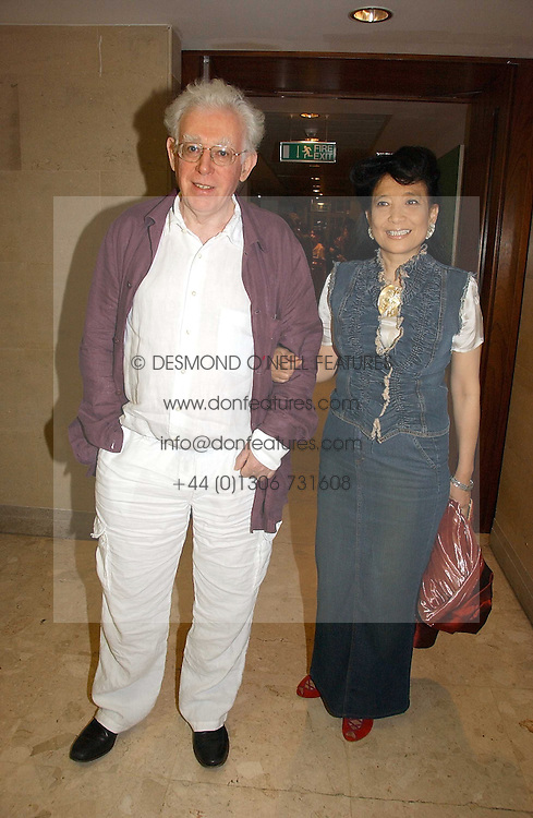 MR JON HALLIDAY and writer JUNG CHANG at a party to celebrate the publication of Diana by Sarah Bradford held at 80 The Strand, London on 27th September 2006.<br /><br />NON EXCLUSIVE - WORLD RIGHTS