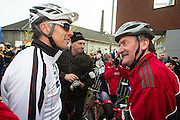 BELGIUM / BELGIQUE / BELGIE / CYCLOCROSS / VELDRIJDEN / CYCLO-CROSS / CYCLING / OVERIJSE / DRUIVENCROSS / GENTLEMEN RACE / START / MIKE KLUGE / WILLY VAN ROY /