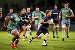 Faf de Klerk of Sale Sharks in action - Mandatory by-line: Matt McNulty/JMP - 08/09/2017 - RUGBY - AJ Bell Stadium - Sale, England - Sale Sharks v Newcastle Falcons - Aviva Premiership
