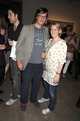 HARRY LOPES and his wife LAURA PARKER BOWLES at the Quintessentailly Summer Party at the Phillips de Pury Gallery, 9 Howick Place, London on 9th July 2008.<br /><br />NON EXCLUSIVE - WORLD RIGHTS