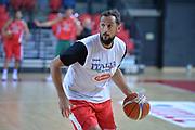 Marco Belinelli<br /> Nazionale Italiana Maschile Senior<br /> Eurobasket 2017<br /> Allenamento<br /> FIP 2017<br /> Telaviv, 30/08/2017<br /> Foto Ciamillo - Castoria/ M.Longo