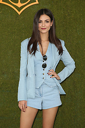 The 8h Annual Veuve Clicquot Polo Classic at Will Rogers State Historic Park in Pacific Palisades, California on October 14, 2017. 14 Oct 2017 Pictured: Victoria Justice. Photo credit: FS/MPI/Capital Pictures / MEGA TheMegaAgency.com +1 888 505 6342