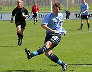 FODBOLD: Paw Bendixen (Helsingør) under kampen i Kvalifikationsrækken, pulje 1, mellem Elite 3000 Helsingør og Virum-Sorgenfri Boldklub den 25. maj 2006 på Helsingør Stadion. Foto: Claus Birch