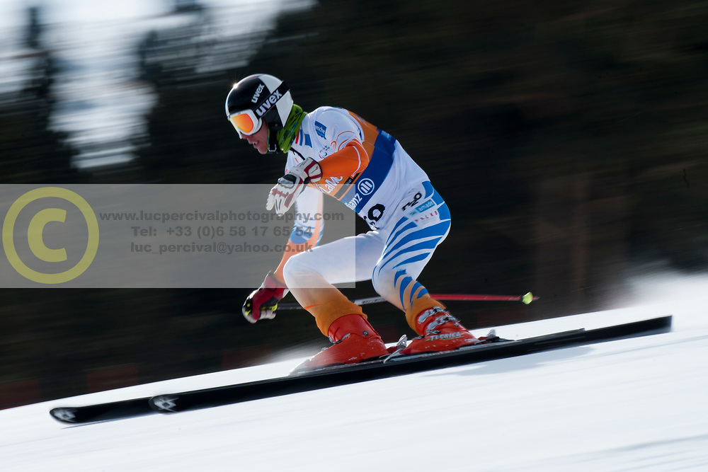 VERBRUGGEN Bart, NED, Super Combined, 2013 IPC Alpine Skiing World Championships, La Molina, Spain