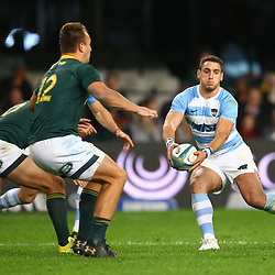 DURBAN, SOUTH AFRICA - AUGUST 18:Bautista Ezurra of Argentina during the Rugby Championship match between South Africa and Argentina at Jonsson Kings Park on August 18, 2018 in Durban, South Africa. (Photo by Steve Haag/Gallo Images)