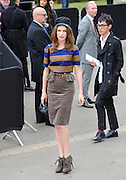 17.SEPTEMBER.2012. LONDON<br /> <br /> TALI LENNOX ATTENDS THE BURBERRY LFW CATWALK SHOW.<br /> <br /> BYLINE: EDBIMAGEARCHIVE.CO.UK<br /> <br /> *THIS IMAGE IS STRICTLY FOR UK NEWSPAPERS AND MAGAZINES ONLY*<br /> *FOR WORLD WIDE SALES AND WEB USE PLEASE CONTACT EDBIMAGEARCHIVE - 0208 954 5968*