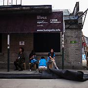 Beijing, China 2011. Dashilan, The Factory.