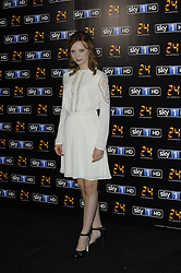 Emily Berrington attends the UK premiere of '24: Live Another Day' at Old Billingsgate Market, London, United Kingdom. Tuesday, 6th May 2014. Picture by Chris Joseph / i-Images
