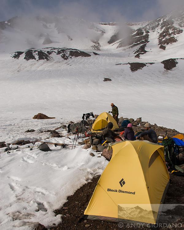 Lake Helen Camp, Mount Shasta, Shasta, SBA, Sugar, Bowl, Academy, Backcountry, expedition, leadership, advisory, trinity chutes, skiing, skinning, backpacking, camping, andy giordano