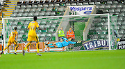 Goal. Plymouth Argyle's Christian Walton dive cannot keep out Cambridge Utd's Luke Berry winning goal during the Sky Bet League 2 match between Plymouth Argyle and Cambridge United at Home Park, Plymouth, England on 12 December 2015. Photo by Graham Hunt.