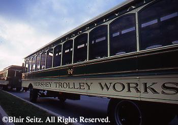 Hershey, PA, Hershey Chocolate World, Antique Hershey Trolley Works