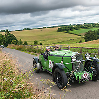 Peter Neumark and Geoffrey Neumark in their Talbot 105 Alpine  on the Royal Automobile Club 1000 Mile Trial 2015