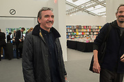 DARREN FLOOK, Frieze opening day. Regent's Park. London. 2 October 2019