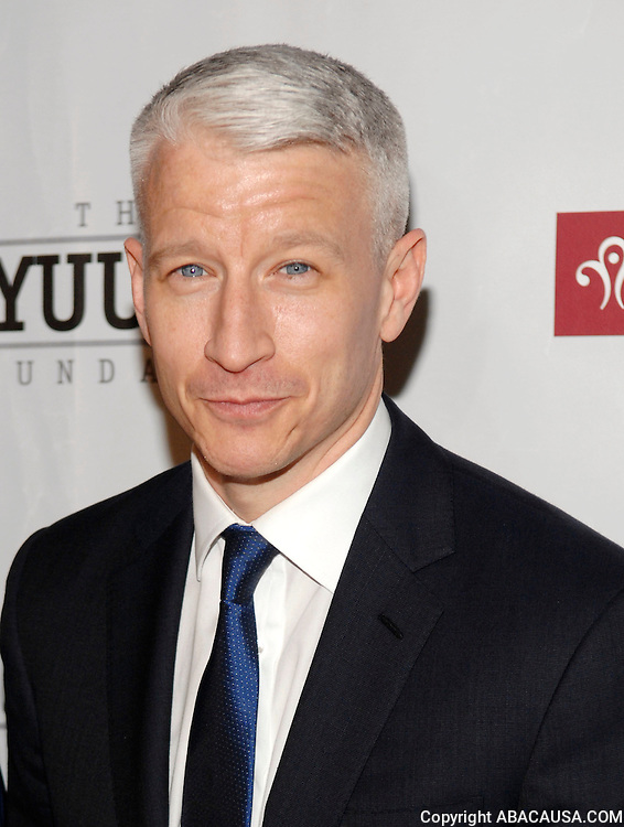 CNN correspondent Anderson Cooper poses at The 5th Annual Wayuu Taya Fundraising Gala at the Bowery Hotel on the Lower East Side in New York City, USA on June 5, 2008.