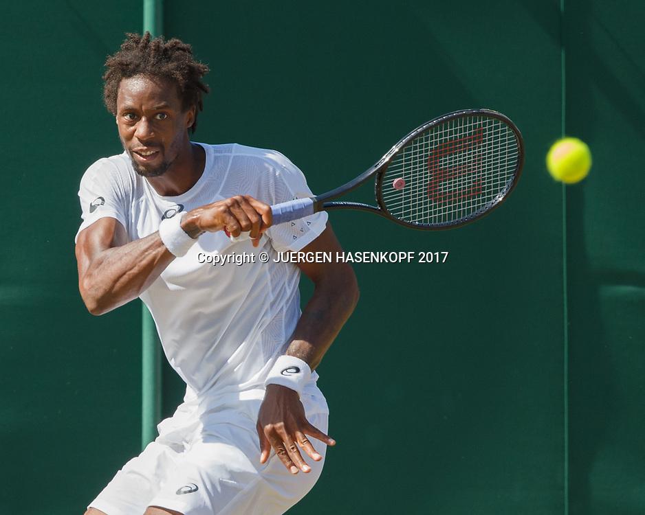 GAEL MONFILS (FRA)<br /> <br /> Tennis - Wimbledon 2017 - Grand Slam ITF / ATP / WTA -  AELTC - London -  - Great Britain  - 8 July 2017.