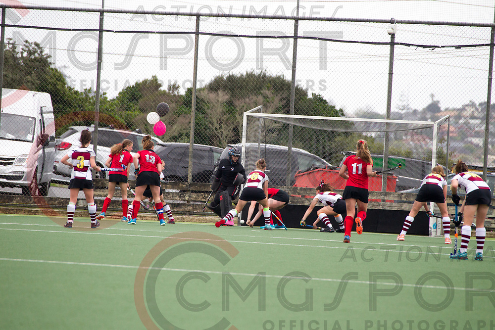 CANTERBURY V HARBOUR<br /> U15 PREMIER GIRLS HOCKEY THE FINAL<br /> NORTH HARBOUR STADIUM<br /> Kevin Clarke CMGSPORT<br /> &copy;cmgsport2017