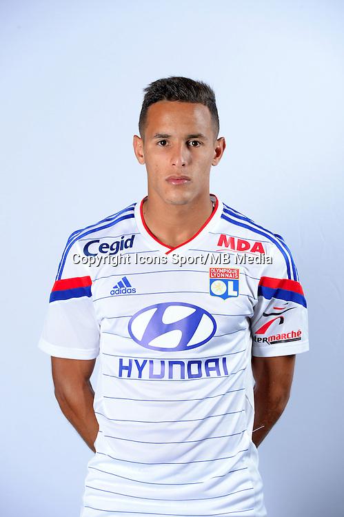 Mehdi ZEFFANE - 17.09.2014 - Portrait Officiel - Lyon<br /> Photo : Icon Sport