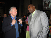 Jon Voight & Magic Johnson.Black Enterprise Magazine Party.Beverly Whilshire Hotel.Beverly Hills, California, USA.Wednesday, February 21, 2007.Photo By Celebrityvibe; .To license this image please call (212) 410 5354 ; or.Email: celebrityvibe@gmail.com ;